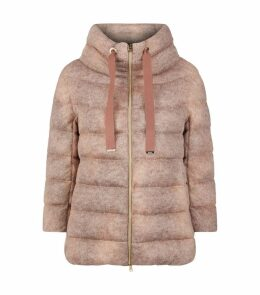 Mohair Down Jacket