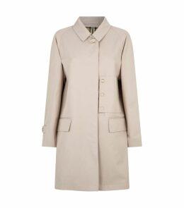 Cotton Gabardine Car Coat