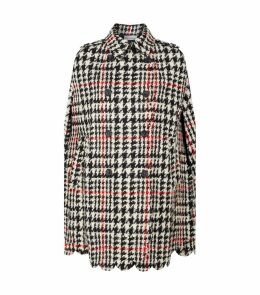 Wool Check Cape