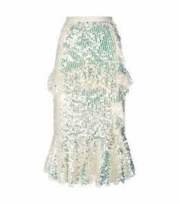 Scarlett Sequin Midi Skirt
