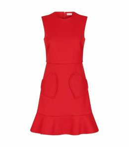 Heart Pockets Mini Dress