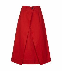 Fractured Midi Skirt