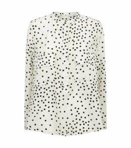 Silk Polka Dot Shirt