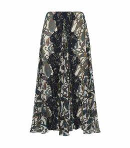 Paisley Ankle-Length Skirt