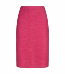 Textured Knit Pencil Skirt