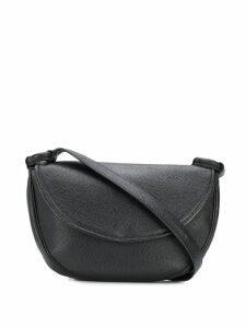 Yves Saint Laurent Pre-Owned 1970's flap shoulder bag - Black