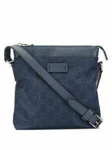 Gucci Pre-Owned GG pattern crossbody bag - Blue