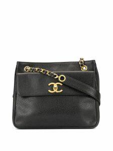Chanel Pre-Owned flap shoulder bag - Black
