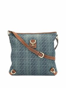 Gucci Pre-Owned GG monogram cross body bag - Blue