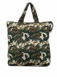 Fendi Pre-Owned Zucchino pattern shopper - Green