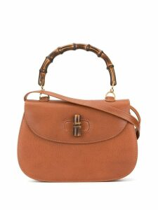 Gucci Pre-Owned Bamboo Line 2way tote - Brown