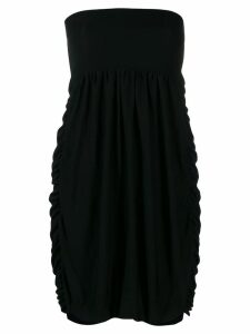 Moschino Pre-Owned strapless balloon dress - Black