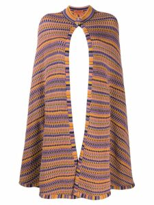 Missoni Pre-Owned knitted cape - Yellow