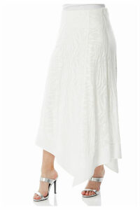 Hanky Hem Burnout Skirt