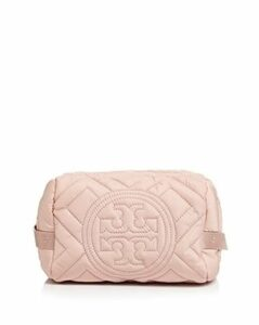 Tory Burch Fleming Quilted Nylon Cosmetics Case