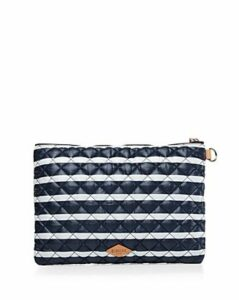 Mz Wallace Striped Metro Pouch