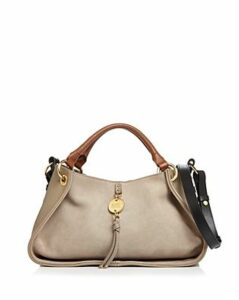 See by Chloe Luce Leather & Suede Satchel