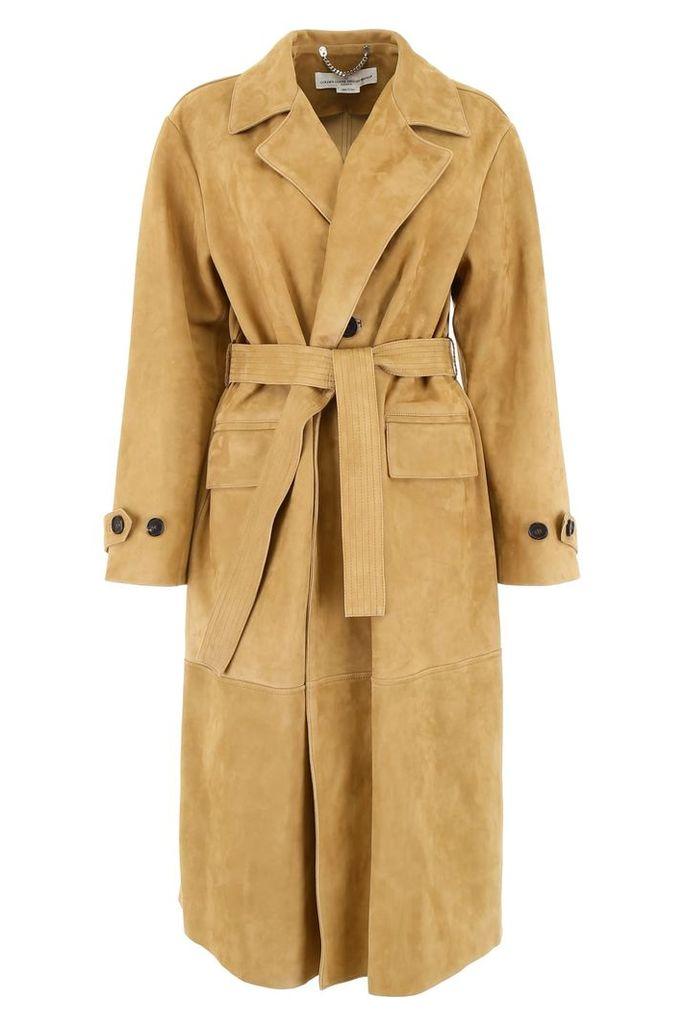 Golden Goose Suede Coat