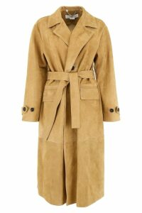 Golden Goose Suede Coat
