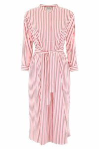 Max Mara Studio Striped Shirt Dress