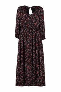 IRO Sirthy Floral Print Crepe Dress