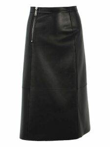 D Squared Leather Skirt