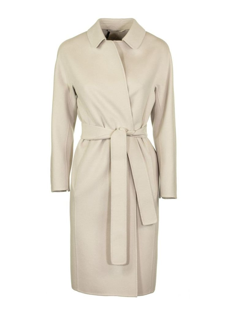 Max Mara Doraci Mid-length Coat With Belt