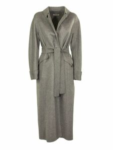 Max Mara Dora Long Coat With Belt