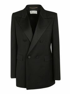 Saint Laurent Double Breasted Large Blazer
