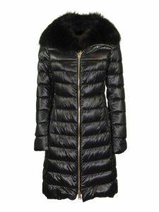 Herno Long Elisa Down Jacket With Fur