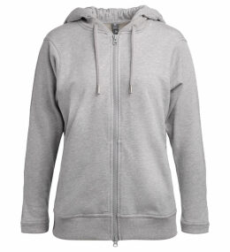Adidas By Stella Mccartney Essentials Grey Hoodie Sweatshirt