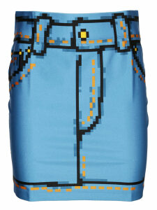 Moschino Blue Skirt