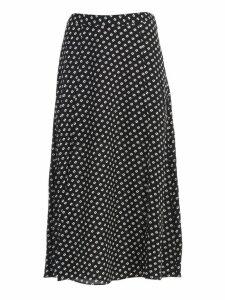 MICHAEL Michael Kors Skirt Longuette Fantasy W/slit