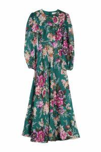 Zimmermann Allia Printed Linen Maxi Dress