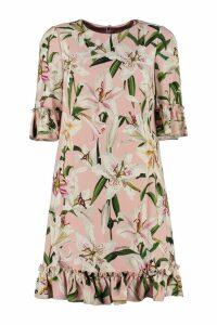 Dolce & Gabbana Ruffled Cady Dress