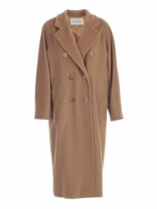Max Mara Coat Madame Over Cashmere And Wool