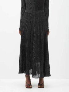 Thierry Colson - Rachel Striped Cotton Mini Dress - Womens - Pink