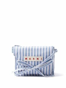 Zimmermann - Verity Floral Print Linen Midi Dress - Womens - Cream