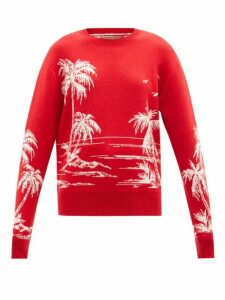 Loup Charmant - Adelaide Floral Print Organic Cotton Dress - Womens - Green