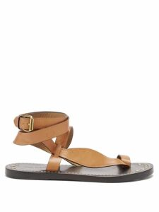 Gül Hürgel - Floral Print Crepe Maxi Dress - Womens - Red White