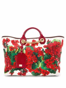 Dolce & Gabbana large Capri tote bag - White