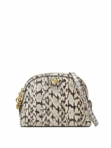 Gucci Ophidia small snakeskin shoulder bag - White