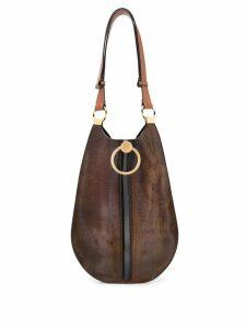 Marni slouchy shoulder bag - Brown