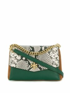 Tory Burch contrast panel tote bag - Green