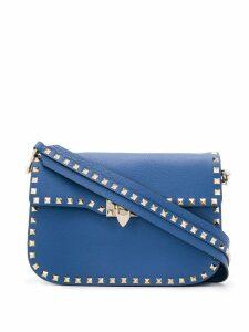 Valentino Valentino Garavani rockstud satchel bag - Blue