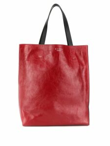 Marni museo shopper bag - Red