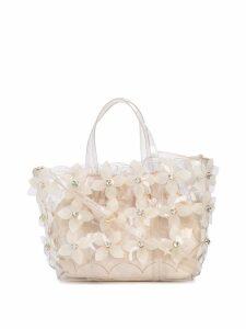 Zac Zac Posen Floral Bouquet Shopper bag - White
