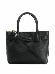 Philipp Plein logo tote bag - Black