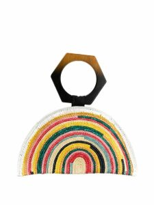 Eugenia Kim semi-circular handbag with geometric hand strap - Yellow