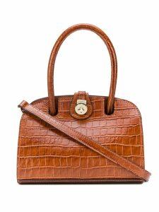 Manu Atelier Micro Ladybird shoulder bag - Brown